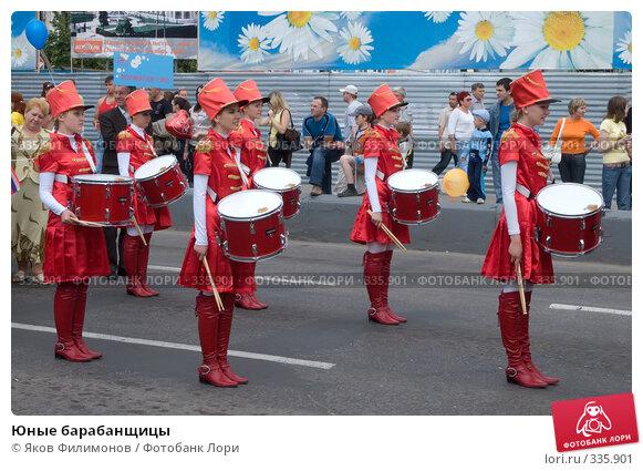 Юные барабанщицы, эксклюзивное фото № 335901, снято 12 июня 2008 г. (c) Яков Филимонов / Фотобанк Лори