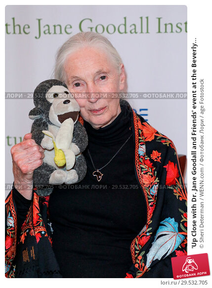 'Up Close with Dr. Jane Goodall and Friends' event at the Beverly... (2018 год). Редакционное фото, фотограф Sheri Determan / WENN.com / age Fotostock / Фотобанк Лори