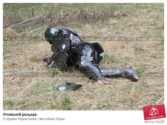 Упавший рыцарь, эксклюзивное фото № 4237, снято 8 мая 2006 г. (c) Ирина Терентьева / Фотобанк Лори