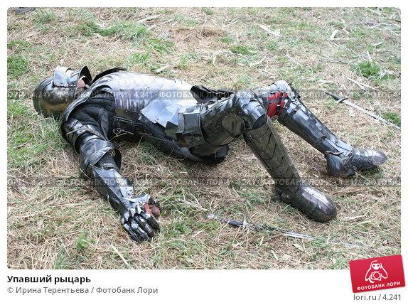 Упавший рыцарь, эксклюзивное фото № 4241, снято 8 мая 2006 г. (c) Ирина Терентьева / Фотобанк Лори