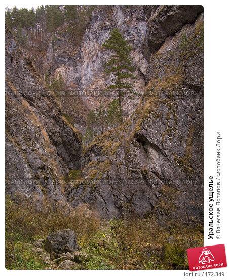 Уральское ущелье, фото № 172349, снято 18 октября 2007 г. (c) Вячеслав Потапов / Фотобанк Лори