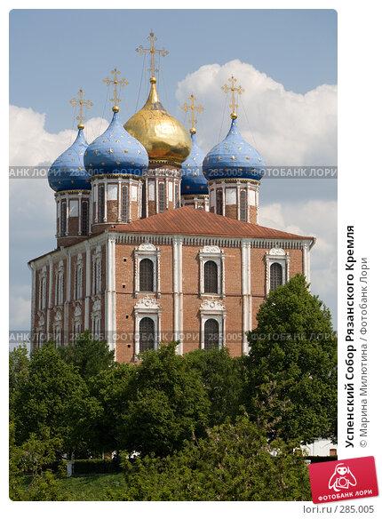 Купить «Успенский Собор Рязанского Кремля», фото № 285005, снято 13 мая 2008 г. (c) Марина Милютина / Фотобанк Лори
