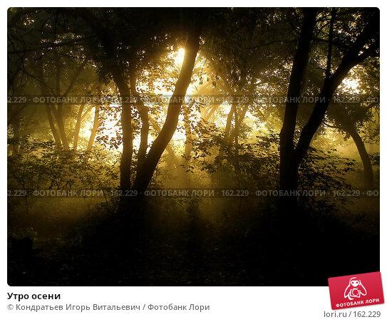 Купить «Утро осени», фото № 162229, снято 22 сентября 2007 г. (c) Кондратьев Игорь Витальевич / Фотобанк Лори