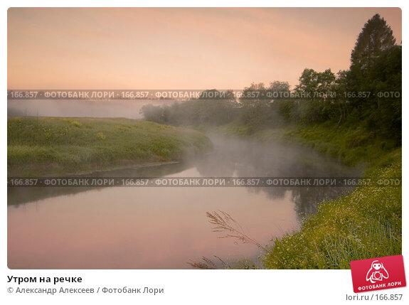 Купить «Утром на речке», эксклюзивное фото № 166857, снято 17 июня 2007 г. (c) Александр Алексеев / Фотобанк Лори