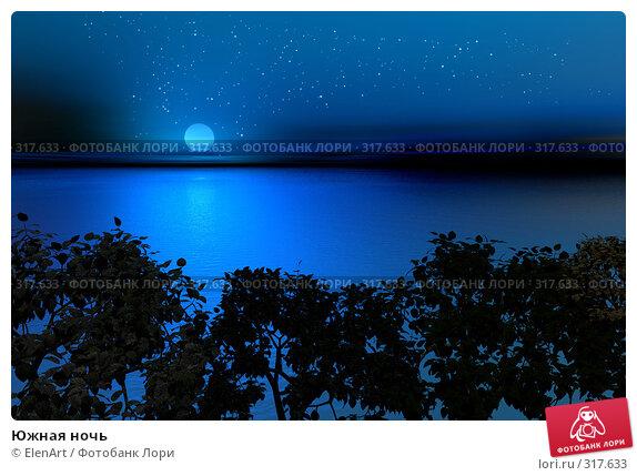 Южная ночь, иллюстрация № 317633 (c) ElenArt / Фотобанк Лори