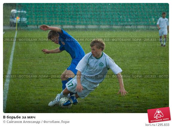 В борьбе за мяч, эксклюзивное фото № 295833, снято 14 мая 2008 г. (c) Сайганов Александр / Фотобанк Лори