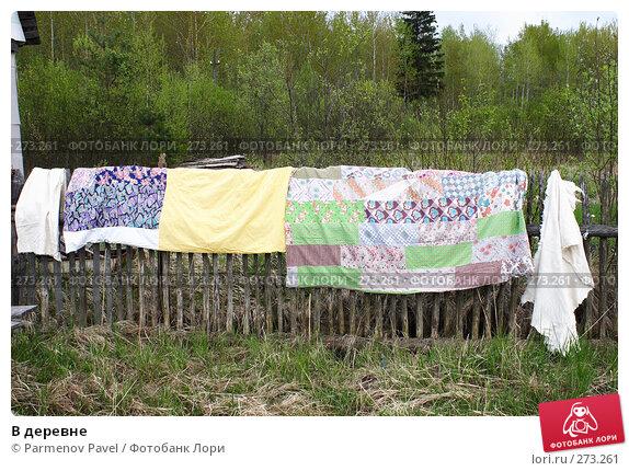 Купить «В деревне», фото № 273261, снято 2 мая 2008 г. (c) Parmenov Pavel / Фотобанк Лори
