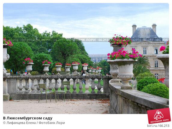 В Люксембургском саду, фото № 66213, снято 18 июня 2007 г. (c) Лифанцева Елена / Фотобанк Лори
