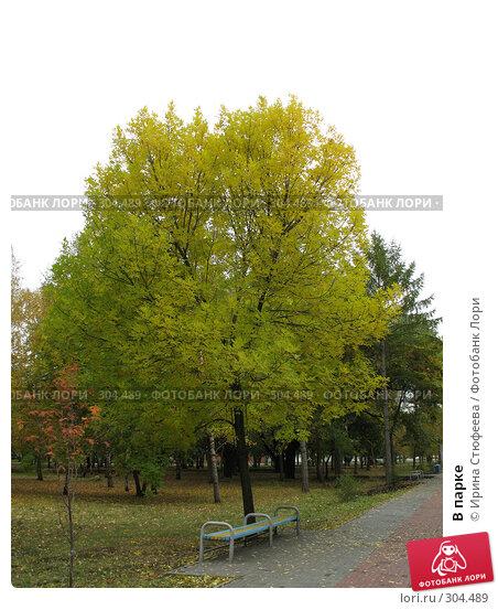 В парке, фото № 304489, снято 30 сентября 2007 г. (c) Ирина Стюфеева / Фотобанк Лори