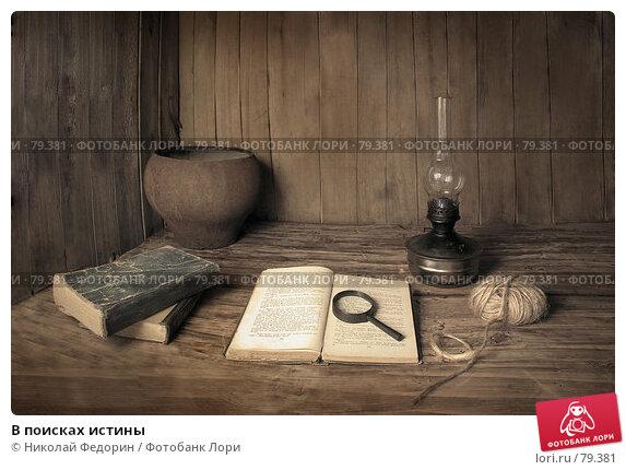 Купить «В поисках истины», фото № 79381, снято 30 апреля 2007 г. (c) Николай Федорин / Фотобанк Лори