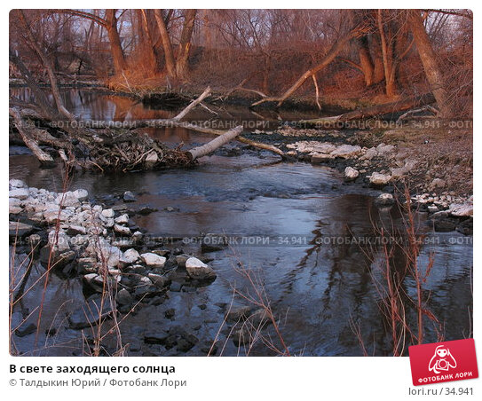 В свете заходящего солнца, фото № 34941, снято 17 апреля 2007 г. (c) Талдыкин Юрий / Фотобанк Лори