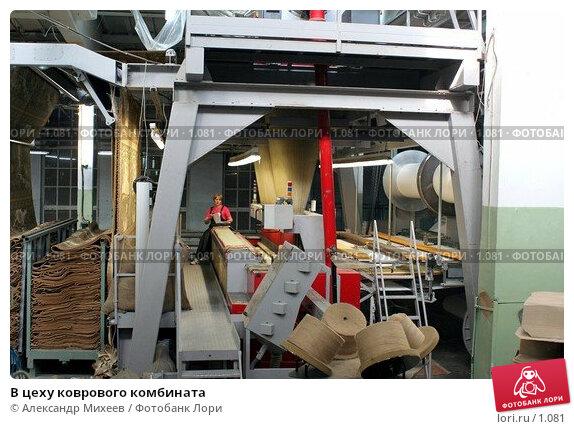 В цеху коврового комбината, фото № 1081, снято 19 января 2017 г. (c) Александр Михеев / Фотобанк Лори