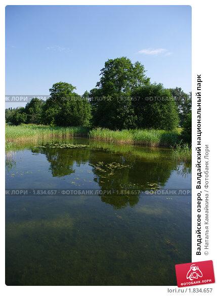 Валдайское озеро, Валдайский национальный парк (2010 год). Редакционное фото, фотограф Наталья Камайкина / Фотобанк Лори