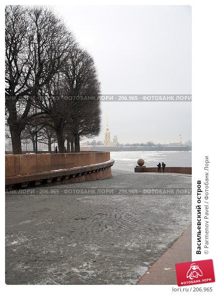 Купить «Васильевский остров», фото № 206965, снято 6 февраля 2008 г. (c) Parmenov Pavel / Фотобанк Лори