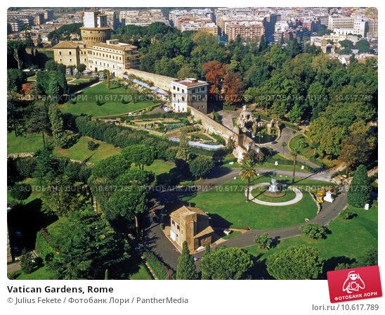 Vatican Gardens, Rome. Стоковое фото, фотограф Julius Fekete / PantherMedia / Фотобанк Лори