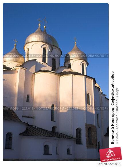 Великий Новгород. Софийский собор, фото № 223013, снято 2 января 2008 г. (c) Роман Коротаев / Фотобанк Лори