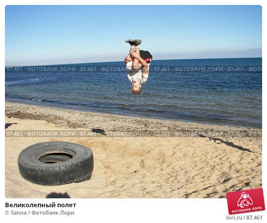 Купить «Великолепный полет», фото № 87461, снято 18 сентября 2007 г. (c) Sanna / Фотобанк Лори