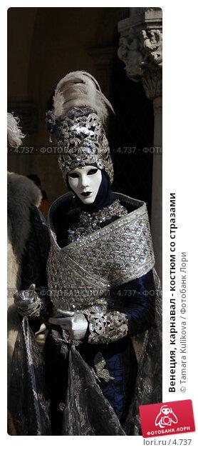 Венеция, карнавал - костюм со стразами, фото № 4737, снято 27 февраля 2006 г. (c) Tamara Kulikova / Фотобанк Лори