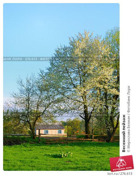 Весенний пейзаж, фото № 276613, снято 27 апреля 2008 г. (c) Мирослава Безман / Фотобанк Лори