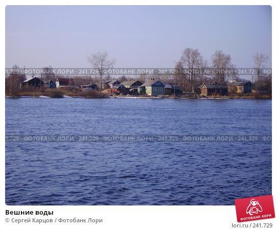 Купить «Вешние воды», фото № 241729, снято 5 мая 2006 г. (c) Сергей Карцов / Фотобанк Лори