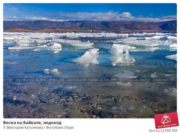 Купить «Весна на Байкале, ледоход», фото № 2559793, снято 23 мая 2011 г. (c) Виктория Катьянова / Фотобанк Лори