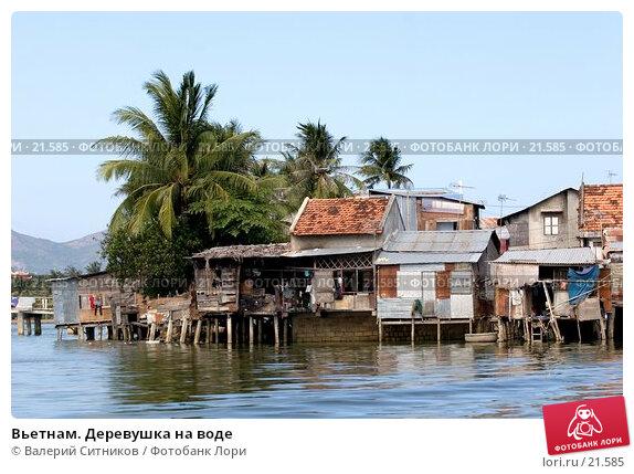 Вьетнам. Деревушка на воде, фото № 21585, снято 12 февраля 2007 г. (c) Валерий Ситников / Фотобанк Лори