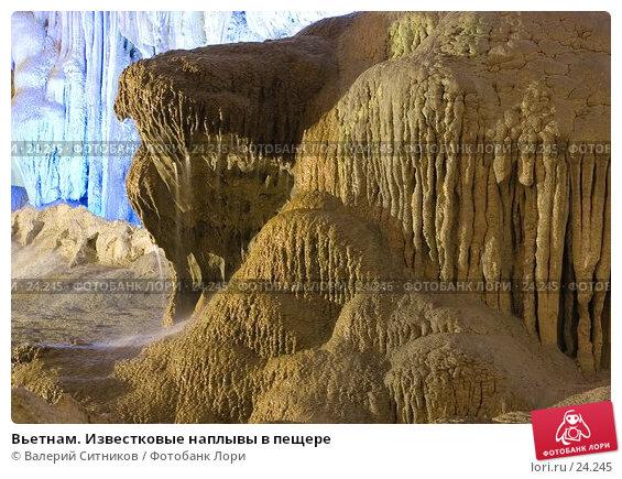 Вьетнам. Известковые наплывы в пещере, фото № 24245, снято 7 февраля 2007 г. (c) Валерий Ситников / Фотобанк Лори