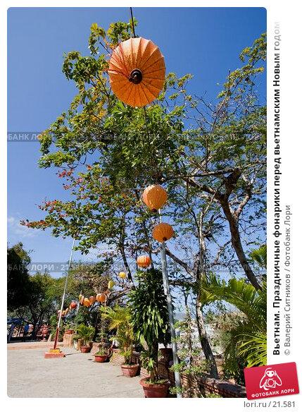 Вьетнам. Праздничные фонарики перед вьетнамским Новым годом, фото № 21581, снято 12 февраля 2007 г. (c) Валерий Ситников / Фотобанк Лори