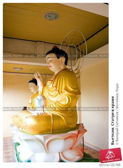 Вьетнам. Статуи в храме, фото № 22105, снято 11 февраля 2007 г. (c) Валерий Ситников / Фотобанк Лори