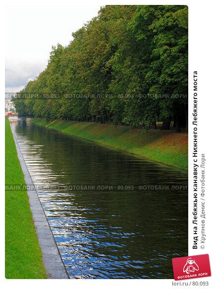 Вид на Лебяжью канавку с Нижнего Лебяжего моста, фото № 80093, снято 29 июля 2007 г. (c) Крупнов Денис / Фотобанк Лори