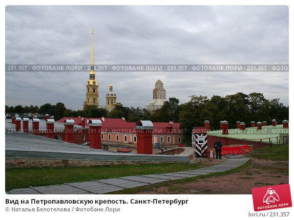 Вид на Петропавловскую крепость. Санкт-Петербург, фото № 231357, снято 15 сентября 2007 г. (c) Наталья Белотелова / Фотобанк Лори