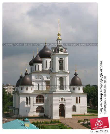 Вид на собор в городе Дмитрове, фото № 35173, снято 19 июля 2005 г. (c) дмитрий / Фотобанк Лори
