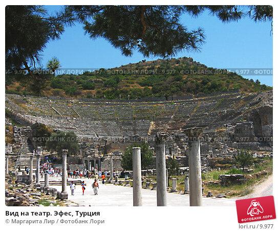 Вид на театр. Эфес, Турция, фото № 9977, снято 9 июля 2006 г. (c) Маргарита Лир / Фотобанк Лори