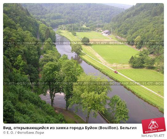 Вид, открывающийся из замка города Буйон (Bouillon). Бельгия, фото № 51477, снято 7 июня 2007 г. (c) Екатерина Овсянникова / Фотобанк Лори