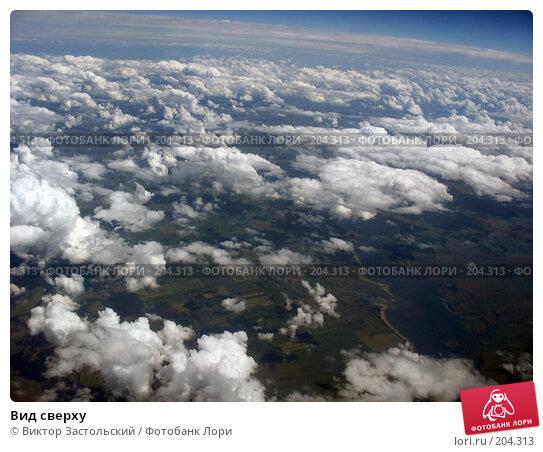 Вид сверху, фото № 204313, снято 17 июня 2006 г. (c) Виктор Застольский / Фотобанк Лори
