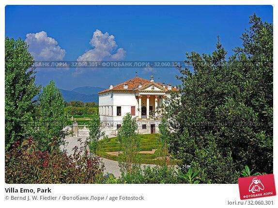Villa Emo, Park. Стоковое фото, фотограф Bernd J. W. Fiedler / age Fotostock / Фотобанк Лори
