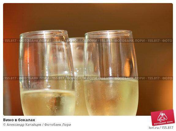 Вино в бокалах, фото № 155817, снято 6 июля 2007 г. (c) Александр Катайцев / Фотобанк Лори