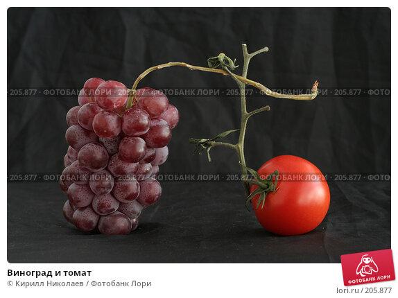 Виноград и томат, фото № 205877, снято 22 апреля 2006 г. (c) Кирилл Николаев / Фотобанк Лори