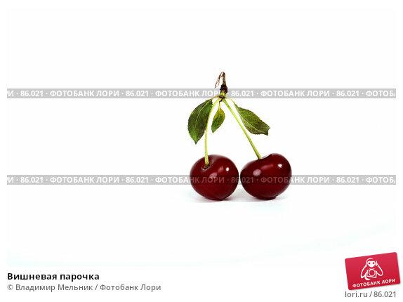 Вишневая парочка, фото № 86021, снято 17 июля 2007 г. (c) Владимир Мельник / Фотобанк Лори