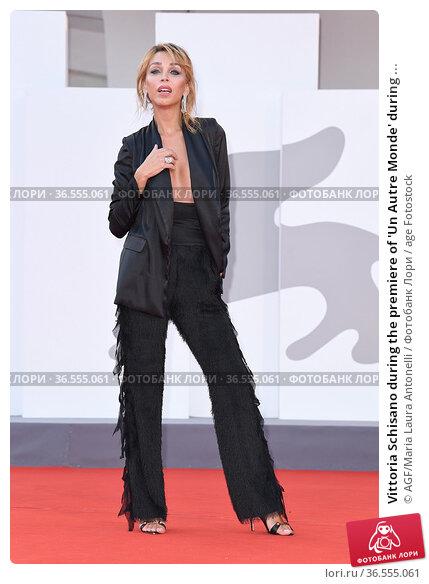 Vittoria Schisano during the premiere of 'Un Autre Monde' during ... Редакционное фото, фотограф AGF/Maria Laura Antonelli / age Fotostock / Фотобанк Лори