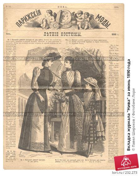 """Вкладка журнала """"Нива"""" за июнь 1890 года, иллюстрация № 232273 (c) Павел Широков / Фотобанк Лори"""
