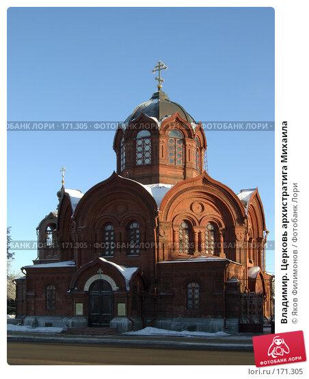Владимир. Церковь архистратига Михаила, фото № 171305, снято 8 января 2008 г. (c) Яков Филимонов / Фотобанк Лори