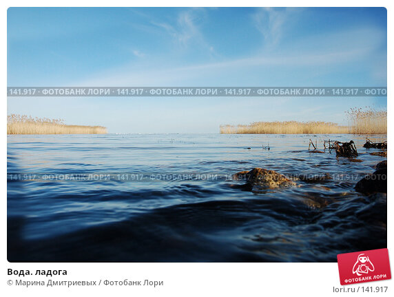 Вода. ладога, фото № 141917, снято 1 апреля 2007 г. (c) Марина Дмитриевых / Фотобанк Лори