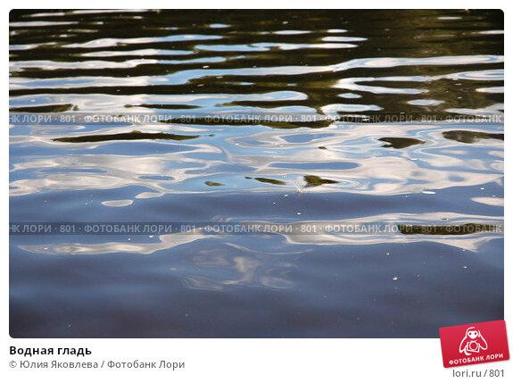 Купить «Водная гладь», фото № 801, снято 4 августа 2005 г. (c) Юлия Яковлева / Фотобанк Лори