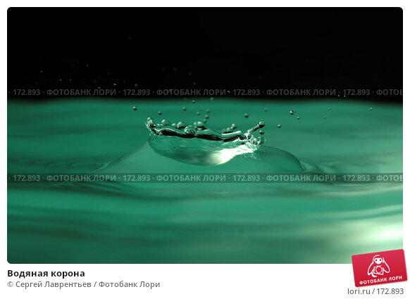 Водяная корона, фото № 172893, снято 29 ноября 2006 г. (c) Сергей Лаврентьев / Фотобанк Лори