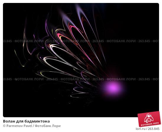 Волан для бадминтона, иллюстрация № 263845 (c) Parmenov Pavel / Фотобанк Лори