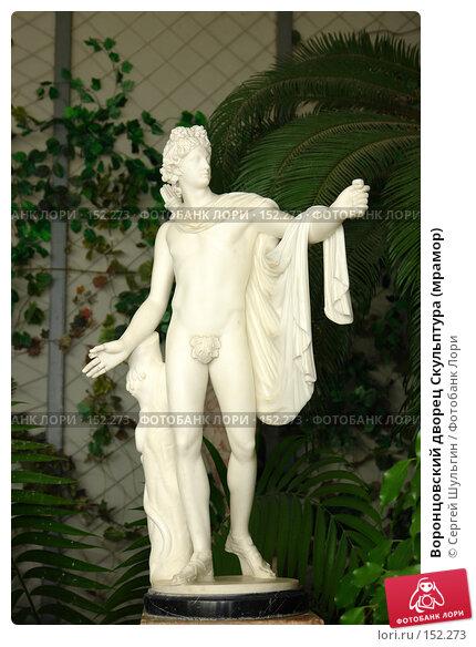 Воронцовский дворец Скульптура (мрамор), фото № 152273, снято 8 апреля 2007 г. (c) Сергей Шульгин / Фотобанк Лори
