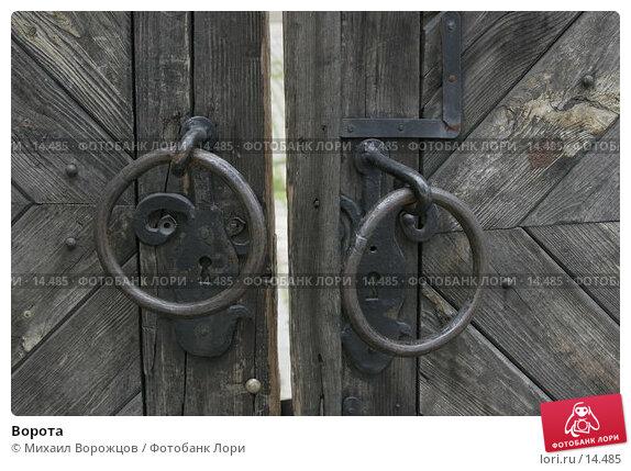 Купить «Ворота», фото № 14485, снято 10 июня 2006 г. (c) Михаил Ворожцов / Фотобанк Лори