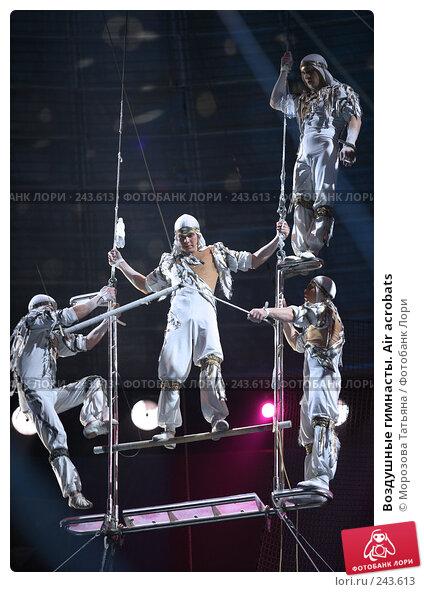 Воздушные гимнасты. Air acrobats, фото № 243613, снято 27 ноября 2006 г. (c) Морозова Татьяна / Фотобанк Лори