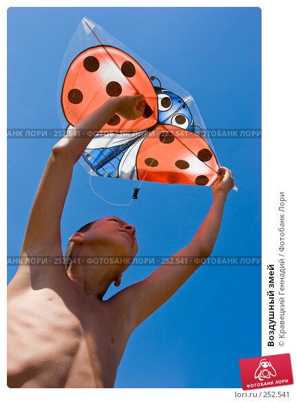 Воздушный змей, фото № 252541, снято 11 августа 2005 г. (c) Кравецкий Геннадий / Фотобанк Лори